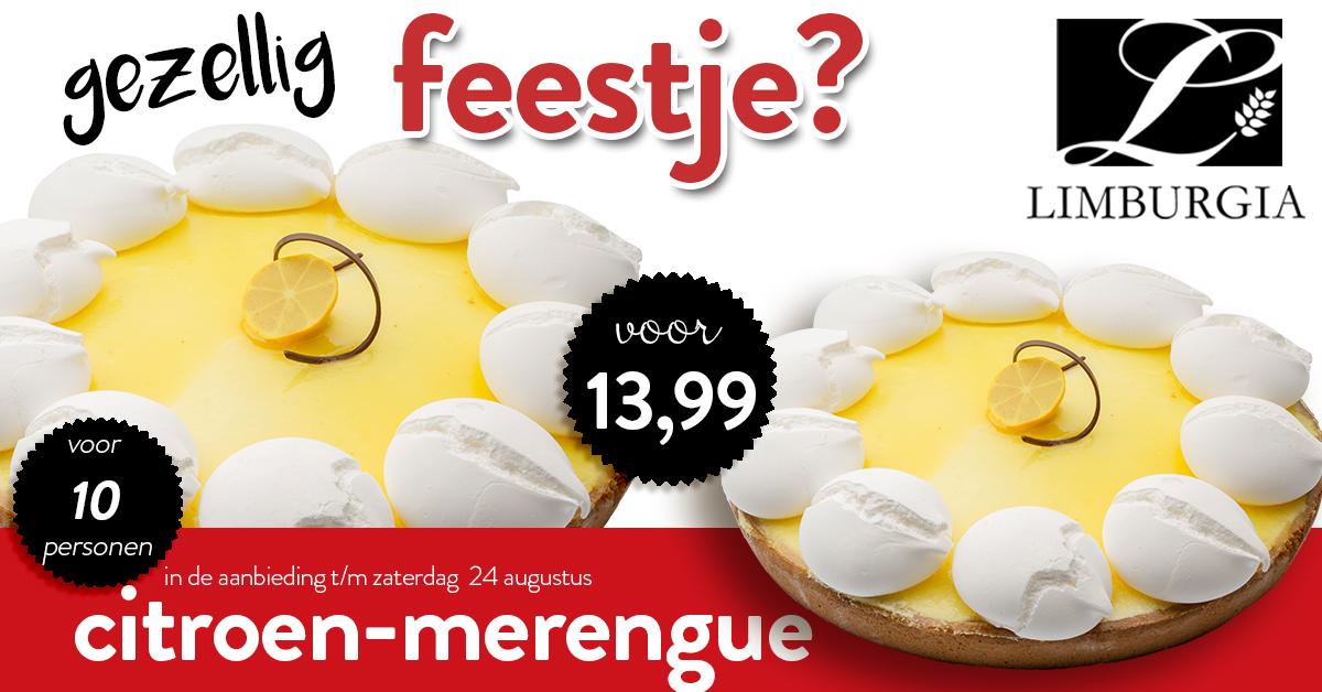 Actie Citroen merengue week 33 34 Limburgia Borne